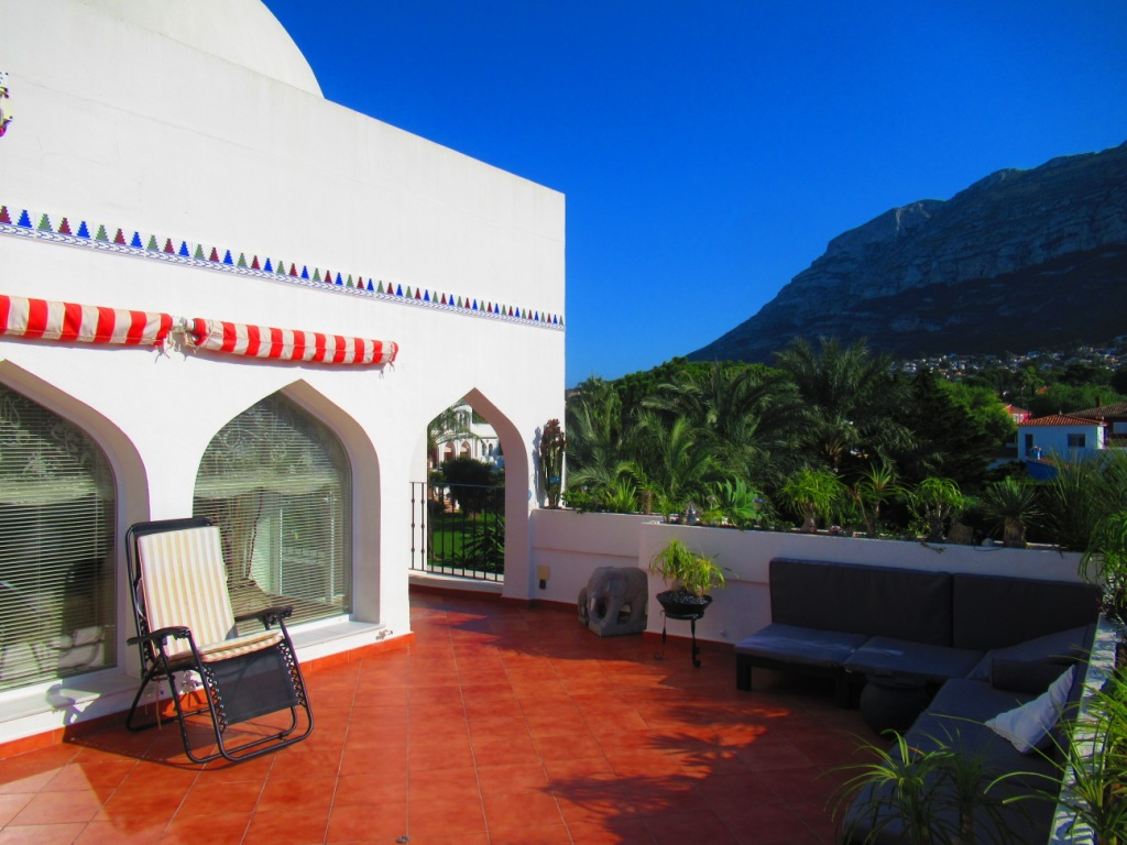 Apartment Penthouse in Denia Montgo Mountain
