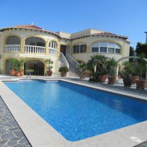 VP44 Luxury Villa For Sale in Denia with 4 Bedrooms sea views