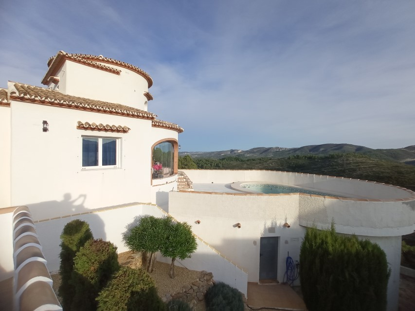 VP10 3 Bedroom Villa for sale with panoramic views in Pedreguer. - Property Photo 11
