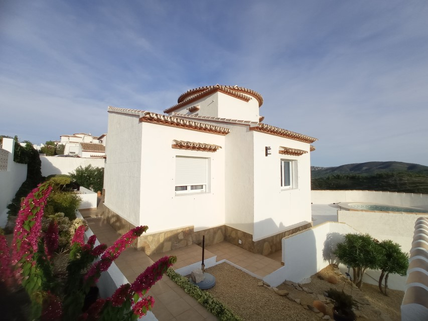 VP10 3 Bedroom Villa for sale with panoramic views in Pedreguer. - Property Photo 13