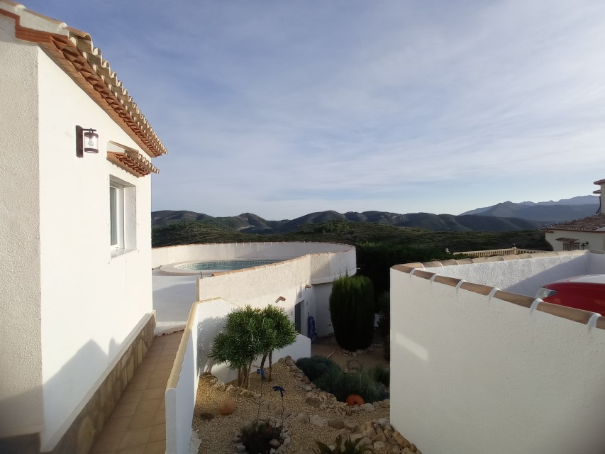 VP10 3 Bedroom Villa for sale with panoramic views in Pedreguer. - Property Photo 12