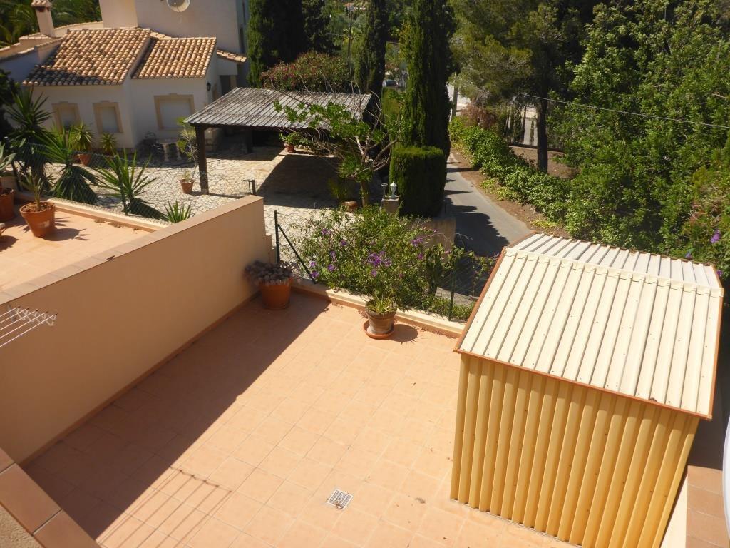 B31 Bungalow triplex mit 4 schlafzimmer zu verkaufen mit Meerblick in Las Rotas, Denia. - Objektbild 5