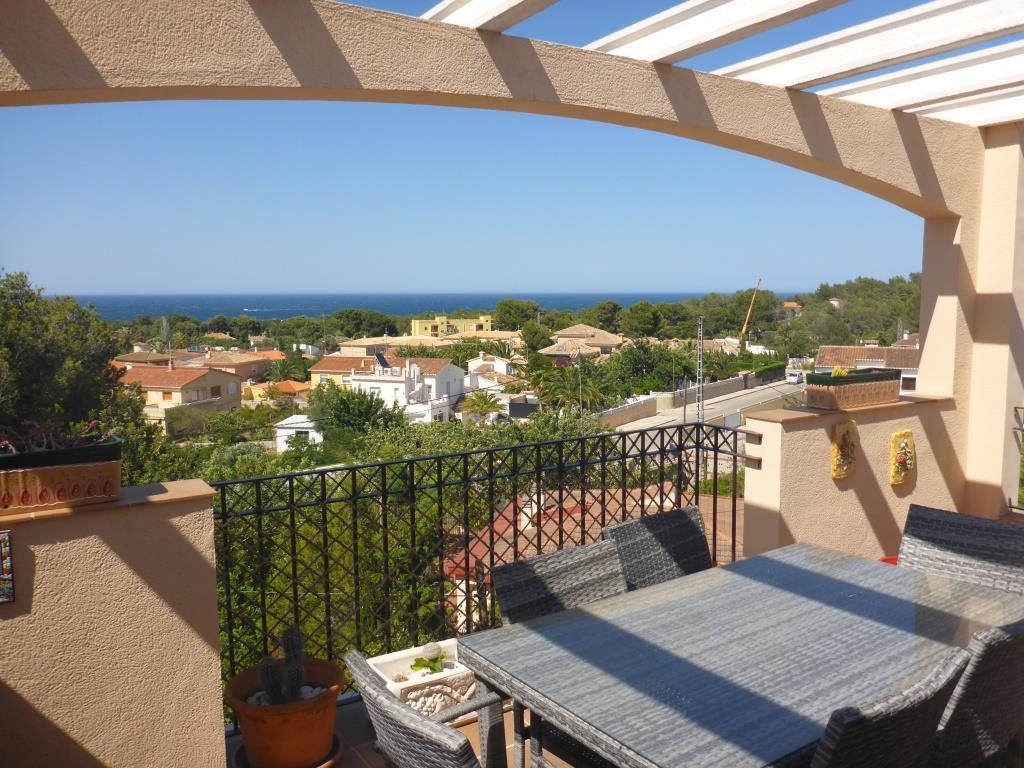 B31 Bungalow triplex mit 4 schlafzimmer zu verkaufen mit Meerblick in Las Rotas, Denia. - Objektbild 6