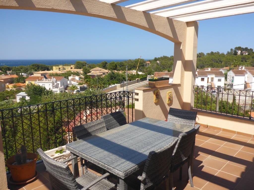 B31 Bungalow triplex mit 4 schlafzimmer zu verkaufen mit Meerblick in Las Rotas, Denia. - Objektbild 7