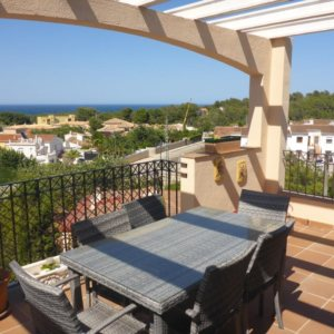 B31  Bungalow for sale in Denia with sea views in Las Rotas area