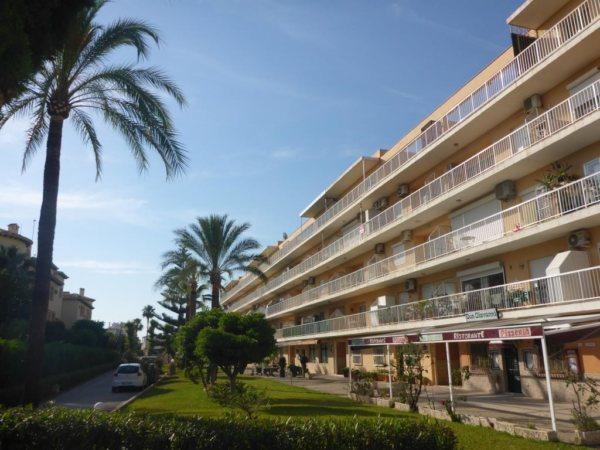 A26 Penthouse à vendre avec 2 chambres et vue sur la mer, Las Marinas, Denia. - Photo