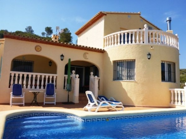 VP22 4 Bedroom Villa for sale with panoramic sea views, Pedreguer, Alicante. - Photo