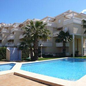 A118 2 Bedroom first line ground floor Apartment for sale in Las Marinas , Denia, Alicante.