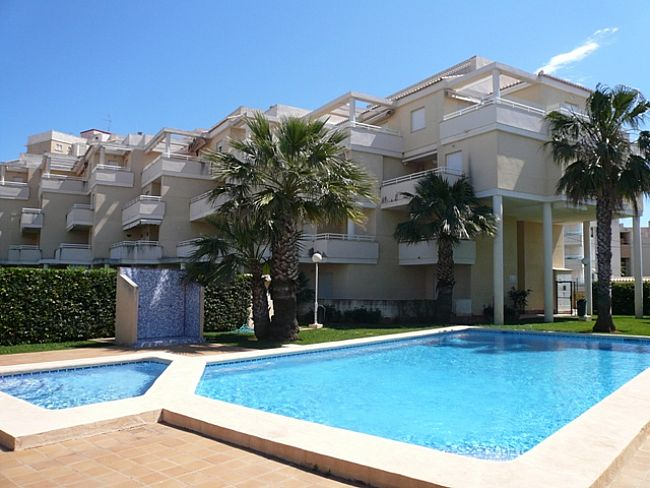 A118 2 Bedroom first line ground floor Apartment for sale in Las Marinas , Denia, Alicante. - Property Photo 1