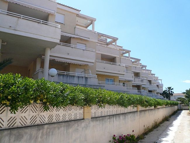 A118 2 Bedroom first line ground floor Apartment for sale in Las Marinas , Denia, Alicante. - Property Photo 2