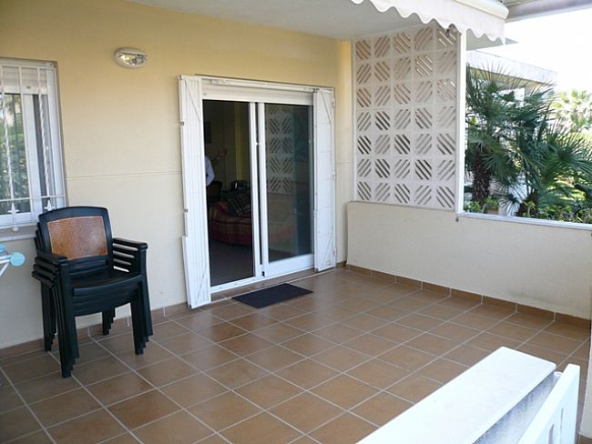 A118 2 Bedroom first line ground floor Apartment for sale in Las Marinas , Denia, Alicante. - Property Photo 3