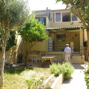 TH04 4 Bedroom Town House for sale in the centre of Denia, Alicante.