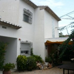 V36 3 Bedroom Villa for sale with sea views in Las Rotas, Denia