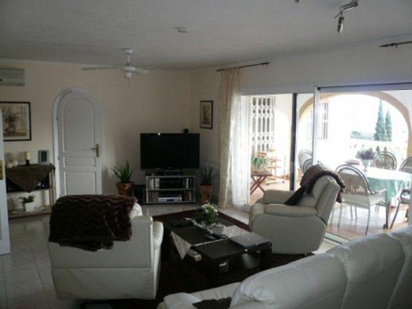 VP45 Villa de luxe à vendre avec 10 chambres et vue panoramique sur la mer à La Pedrera, Denia. - Photo