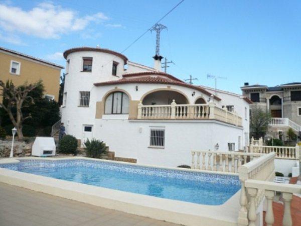 VP45 10 Bedroom Luxury Villa for sale with panoramic sea views in La Pedrera, Denia. - Photo
