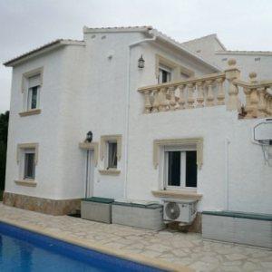 VP38 Villa For Sale in Denia with 3 Bedrooms