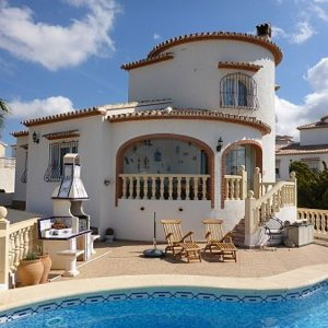 VP10 3 Bedroom Villa for sale with panoramic views in Pedreguer.