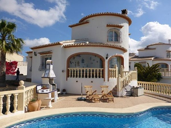 VP10 3 Bedroom Villa for sale with panoramic views in Pedreguer. - Photo