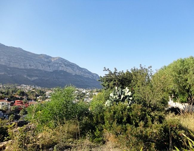 PL03 Plot of land for sale in Denia with views to the Montgó. - Property Photo 6