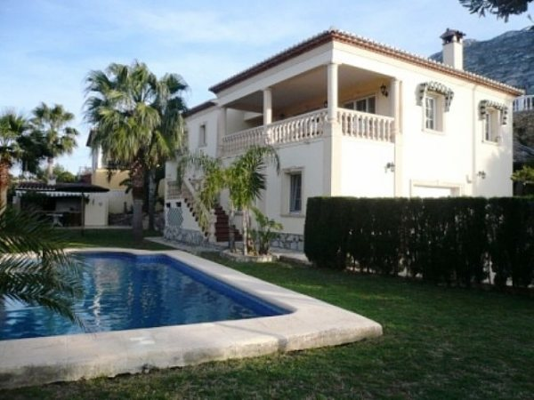 VP05 Villa avec 5 chambres à vendre, sur le Montgó, très près de Denia. - Photo