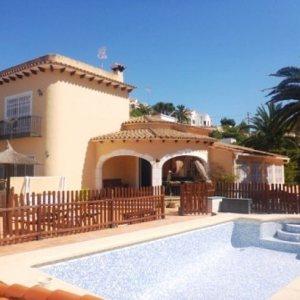 VP07 3 Bedroom Villa for sale with sea and mountain views, Denia, Alicante.
