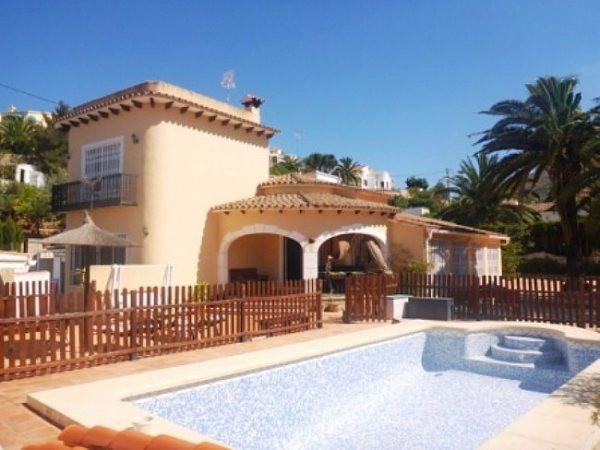 VP07 3 Bedroom Villa for sale with sea and mountain views, Denia, Alicante. - Photo