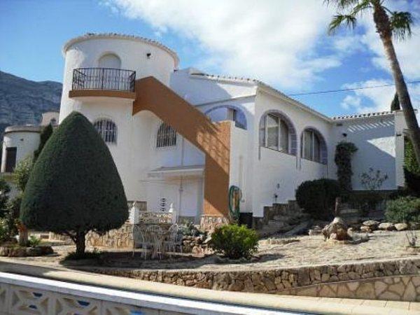 VP11 Villa à vendre à Galeretes, Denia, avec 3 chambres, vue sur la mer et vue sur la montagne. - Photo