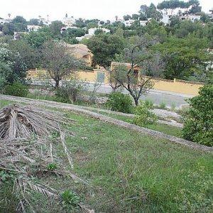 PL18 Plot of land for sale close to Denia, Alicante ,with partial sea views.