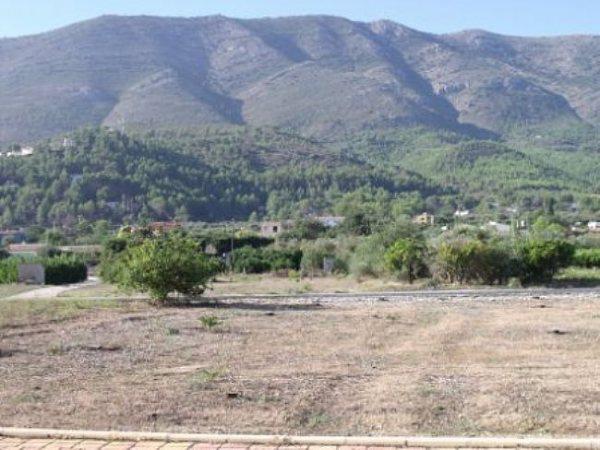 PL15 Plot   Land For Sale in Parcent, Alicante - Photo