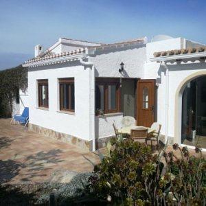 VP74 3 Bedroom Villa for sale near La Sella Golf with sea views.
