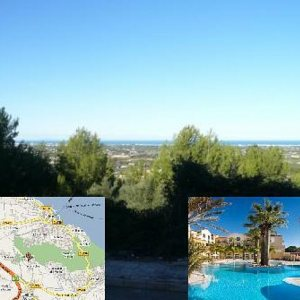 PL06 Plot for sale in La Sella Golf with sea views, Denia, Alicante.
