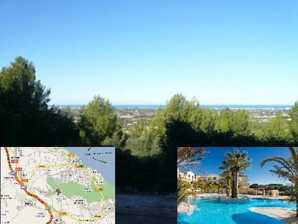 PL06 Plot for sale in La Sella Golf with sea views, Denia, Alicante. - Photo