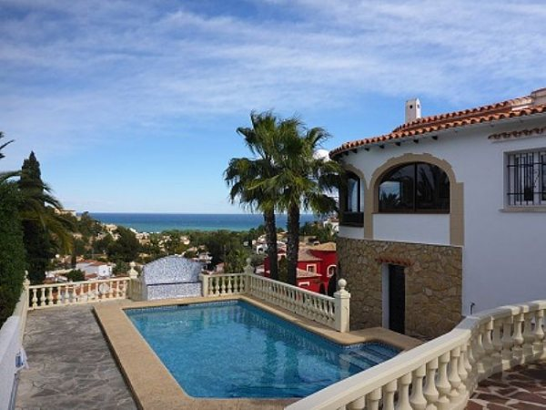 VP55 3 Bedroom Villa for sale with sea views on the Montgó, Denia, Alicante. - Photo