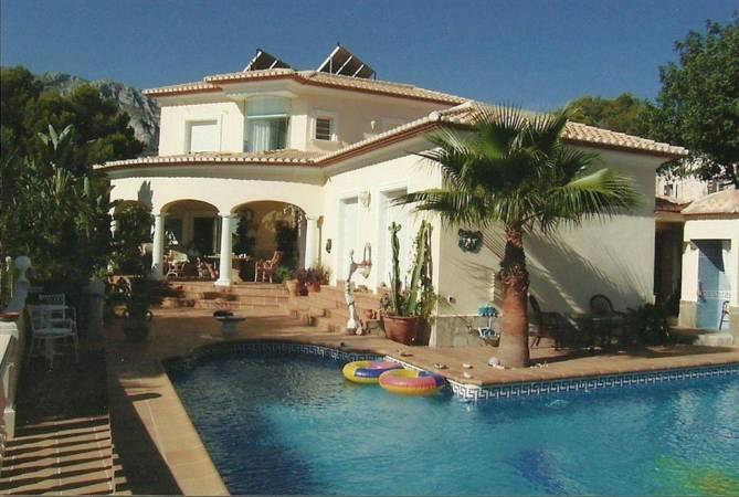 Luxury villa for sale in Denia Spain