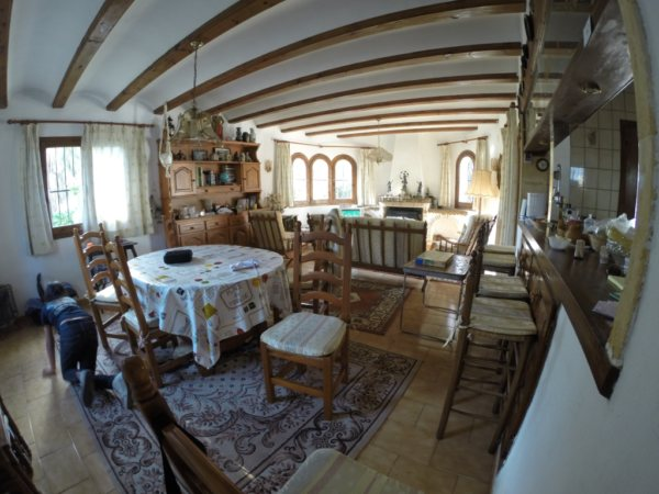 VP06 Chalet de 3 dormitorios en venta en el Montgó, Denia. - Foto