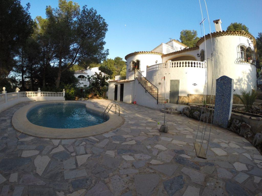 VP06 3 Bedroom Villa for sale on the Montgó, Denia. - Property Photo 2
