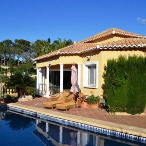 VP08 4 Bedroom Luxury Villa for sale in Las Rotas, Denia.