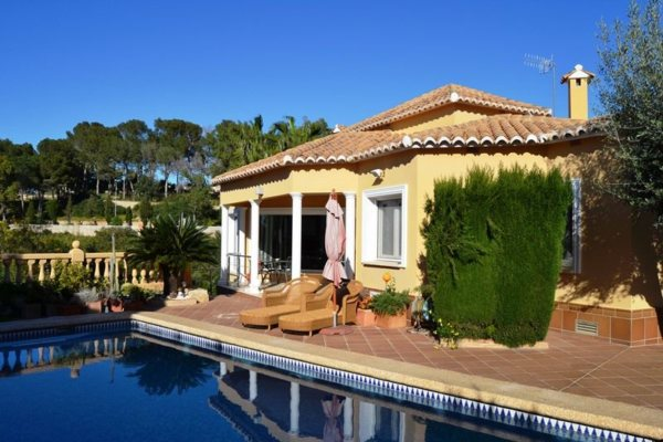 VP08 4 Bedroom Luxury Villa for sale in Las Rotas, Denia. - Photo
