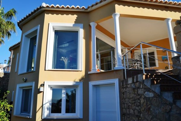 VP08 Lujosa Villa de 4 dormitorios en venta en Las Rotas, Denia. - Foto