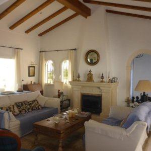 VP19 Lujoso Chalet en venta de 4 dormitorios en Jávea.
