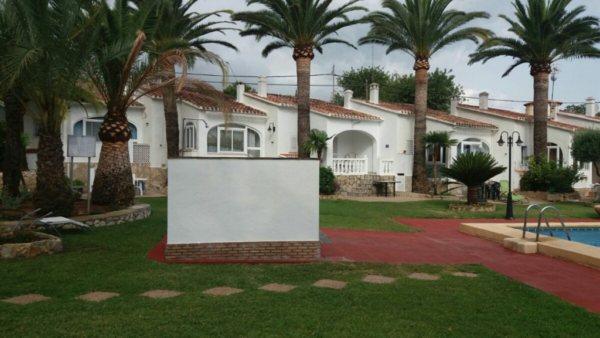 B10 Bungalow avec 2 chambres à vendre à Troyas, Las Rotas ,Denia. - Photo