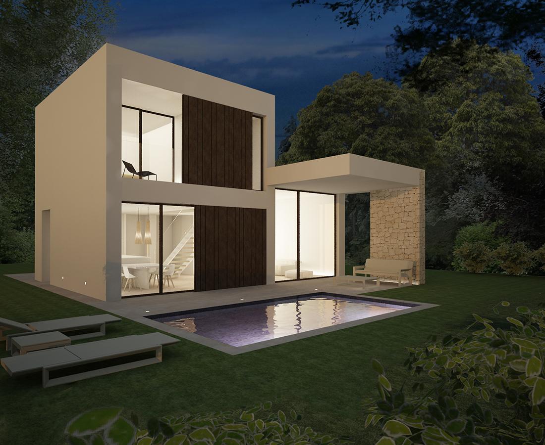 V06 neubau moderne villen zum verkauf in denia alicante for Moderne villen