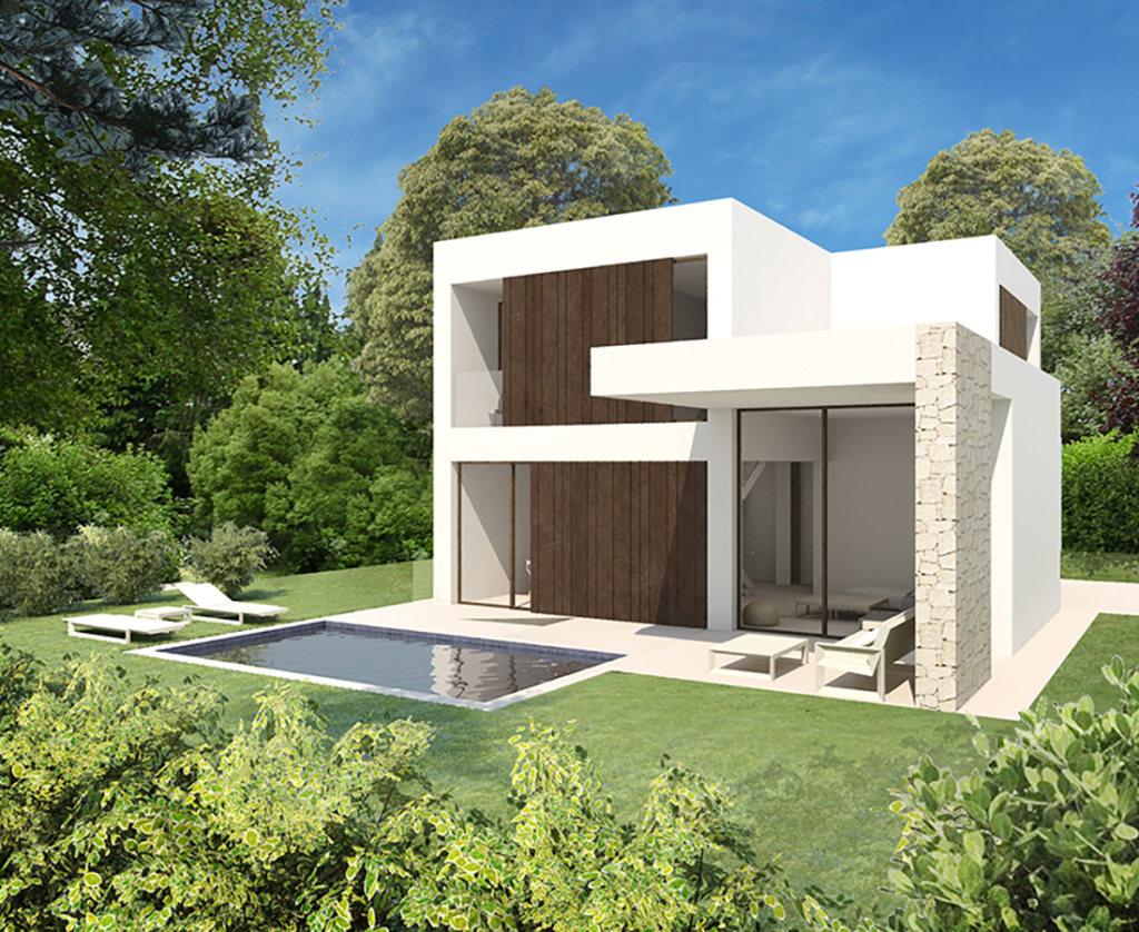 V06 high quality new construction villas for sale in denia for Construction villa