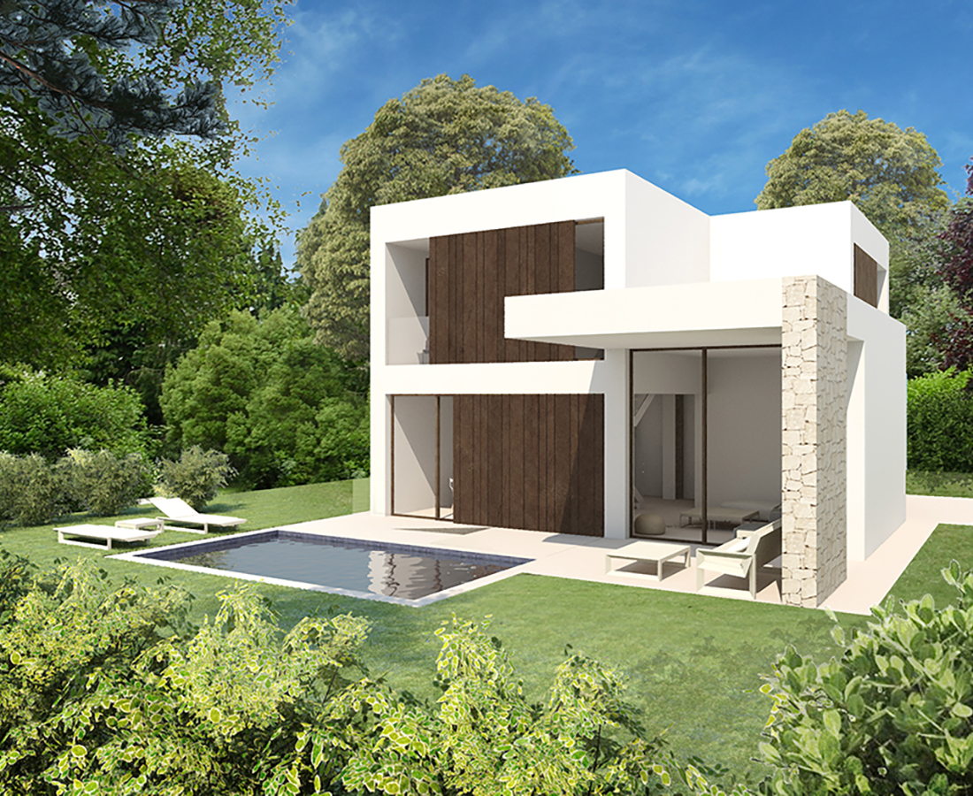 V06 High Quality New Construction Villas For Sale In Denia