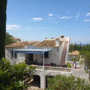 V20  Villa for sale  with 3 bedrooms sea views in Denia, Alicante, Spain.
