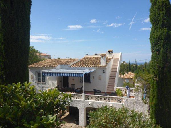 V20  Villa for sale  with 3 bedrooms sea views in Denia, Alicante, Spain. - Photo
