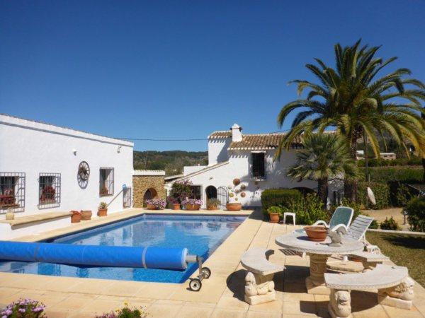 VP17 Finca for sale with land near La Sella Golf course, Alicante, Spain - Photo