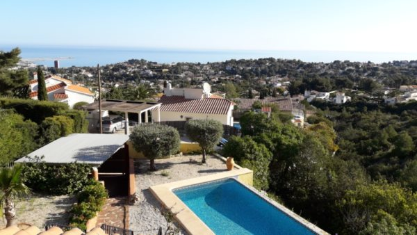 VP26 2 Bedroom Villa on the Montgó with panoramic sea and mountain views. - Photo