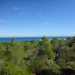 PL19 Plot of land for sale in  Las Rotas, Denia with sea views.