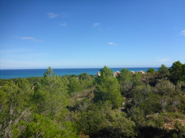 PL19 Plot of land for sale in  Las Rotas, Denia with sea views. - Photo